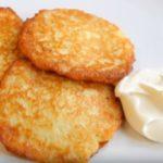 Простой рецепт картофельных драников