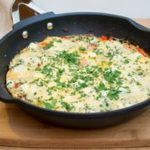 Фриттата с сыром