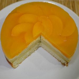 Трёхслойный бисквитный тортик
